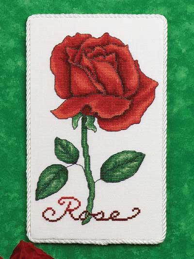 Rose Floral Plaque photo