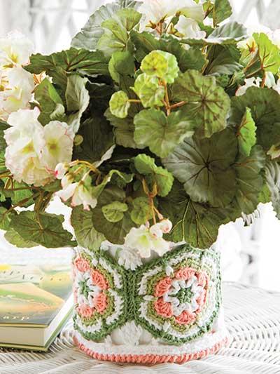 Flowerpot Cozy photo