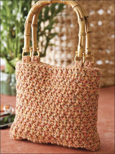 Bamboo-Handle Purse photo