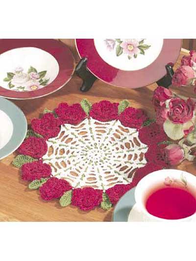 Rose Petal Doily photo