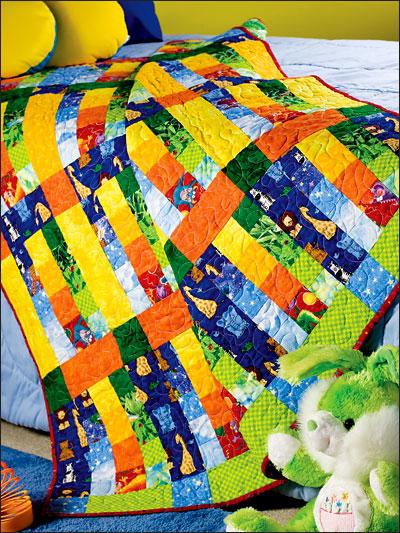 Rainbow Baby Quilt photo