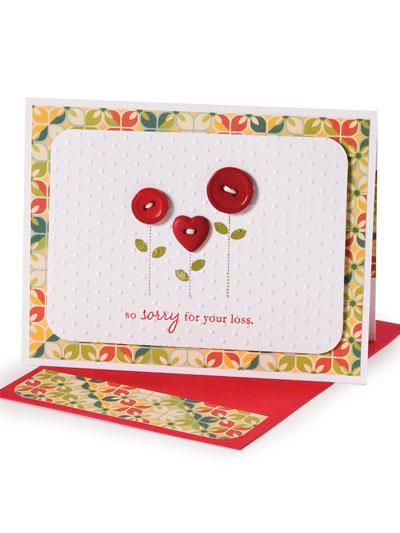 So Sorry Sympathy Card Design photo