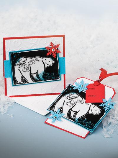 Polar Bear Card & Tag photo