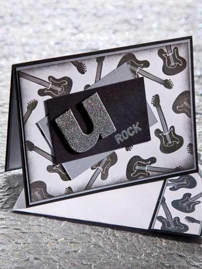 You Rock Card Design photo
