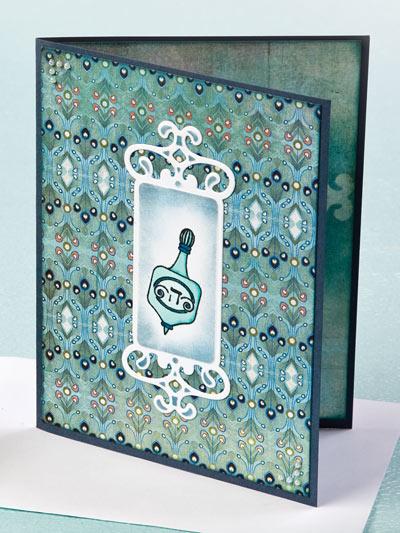 Hanukkah Dreidel Card photo