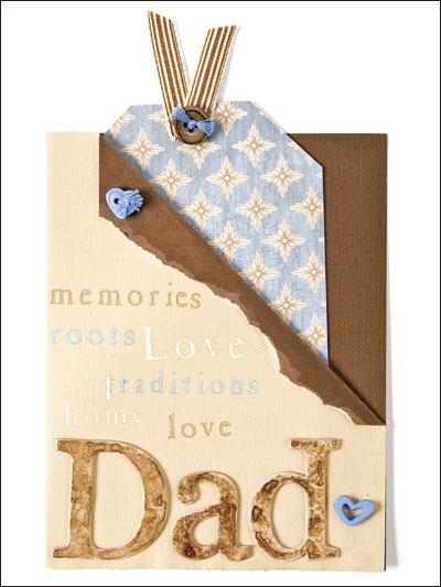 Dad Tag Card photo