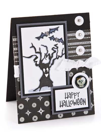 Spooky Halloween Card photo