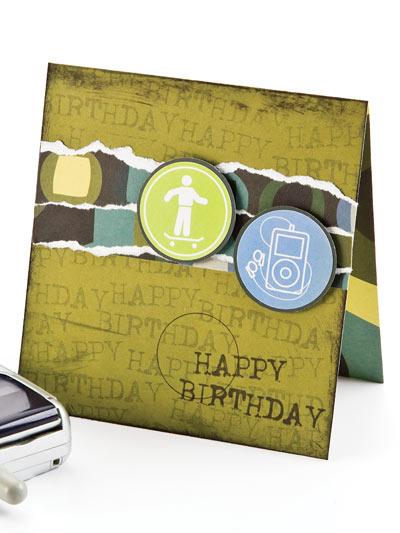 Sporty Birthday Wishes Card photo