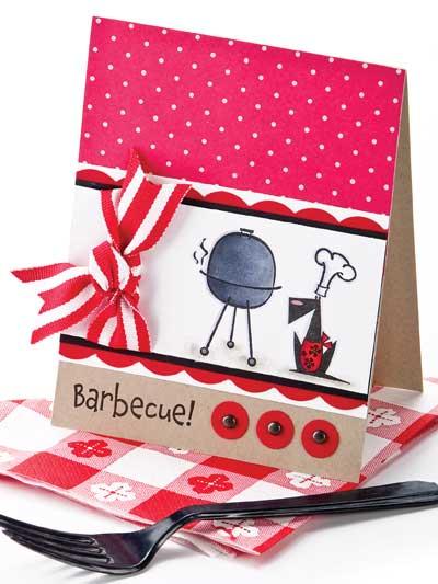 Barbecue! Invitation Card-making Design photo