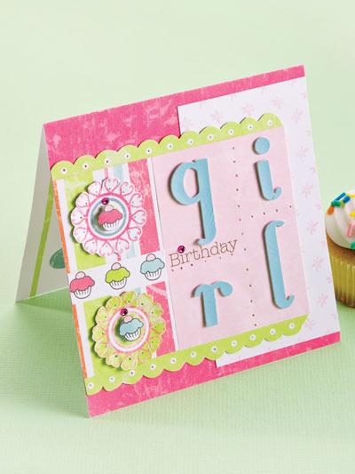 Birthday Girl Card photo