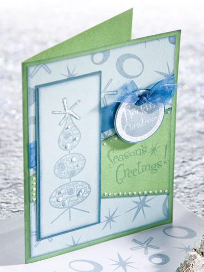 Rockin' Christmas Greetings Card photo