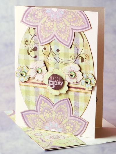 Birthday Bouquet Card photo