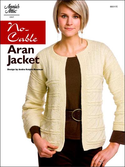 No-Cable Aran Jacket photo