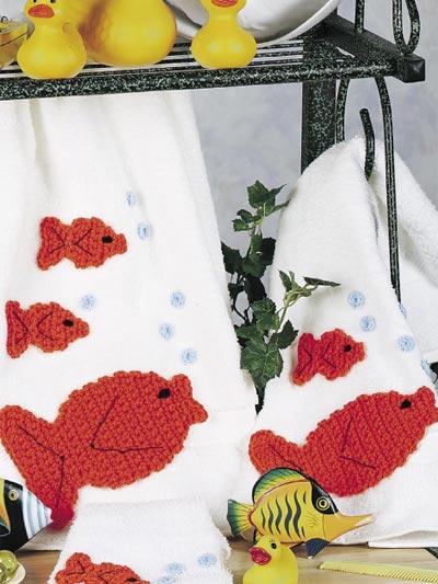 Goldfish Bath Set photo