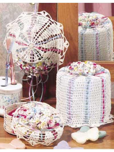 Spring Bouquet Bathroom Accessories photo