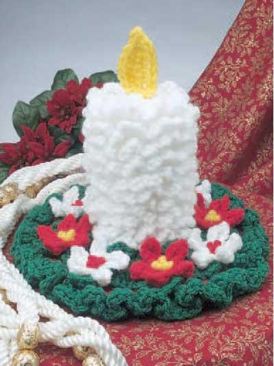 Crochet Candle photo