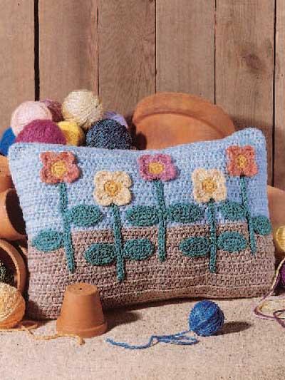 Flower Garden Pillow photo