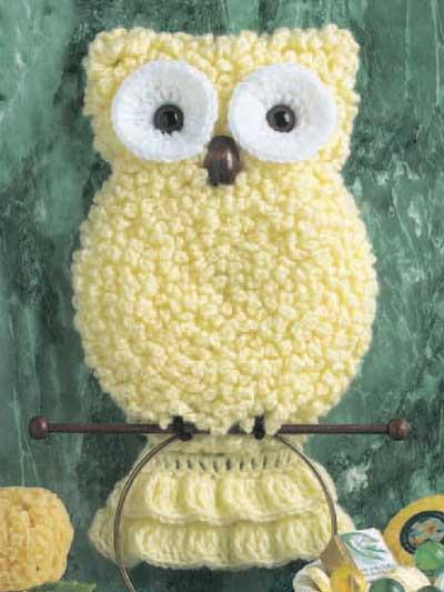 Owl Towel Holder photo
