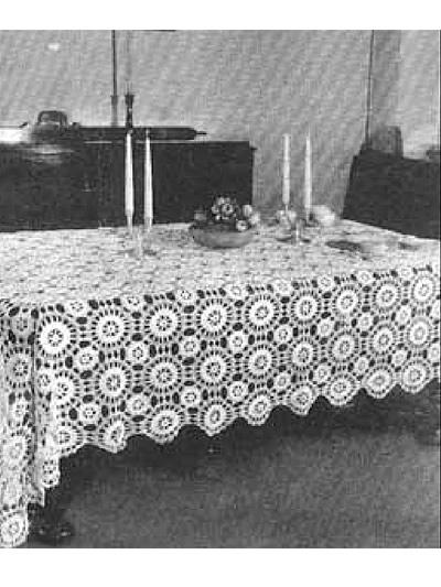 Star Wheel Tablecloth photo