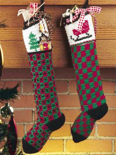 Pair of Christmas Stockings photo