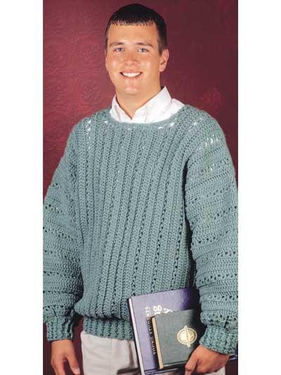 Crochet - Tops - V-Stitch Pullover