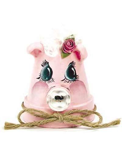 Petunia Pot Pig photo