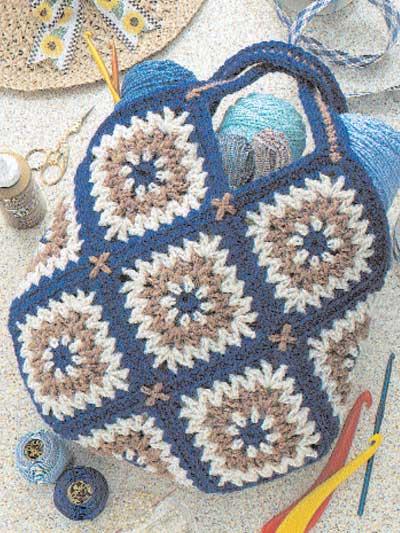 Tapestry Tote Bag photo